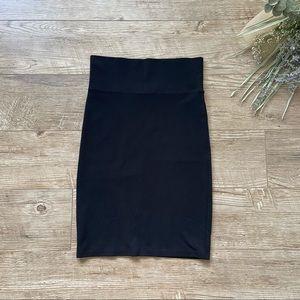Costa Blanca Black Pencil Skirt size M
